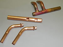 Copper Discharge Header Assembly
