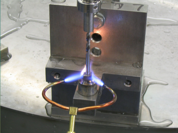 Silver Brazing on heat controller gas furnace parts