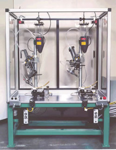 Satellite Paste Applicator Robot