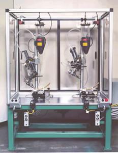 Satellite Paste Applicator Robot
