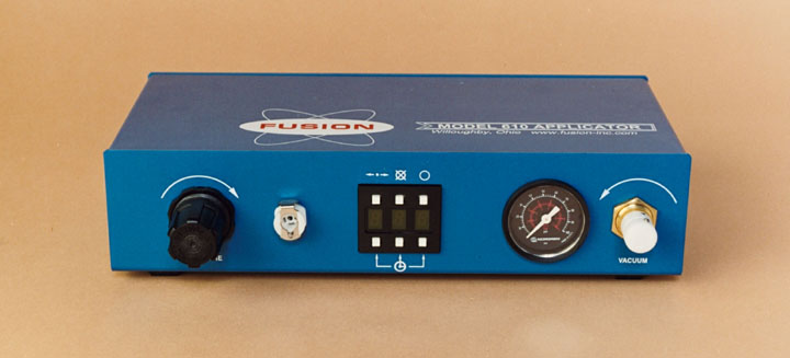 ^10 Applicator Controller up Close