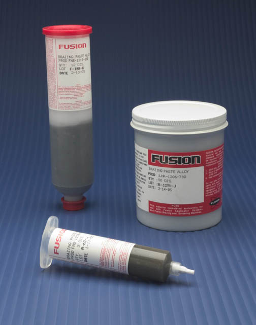 Paste Brazing Filler Metals Braze Amp Solder Fusion Inc